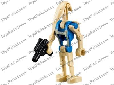 Lego Minifigure Lot Of 2 Star Wars Shield Oval Gungan Patrol Pattern
