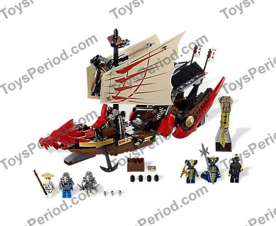 Ninjago Upper Jaw Lego 9446 Red Red Dragon Head
