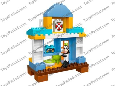 Lego 10827 Mickey Friends Beach House Set Parts Inventory And