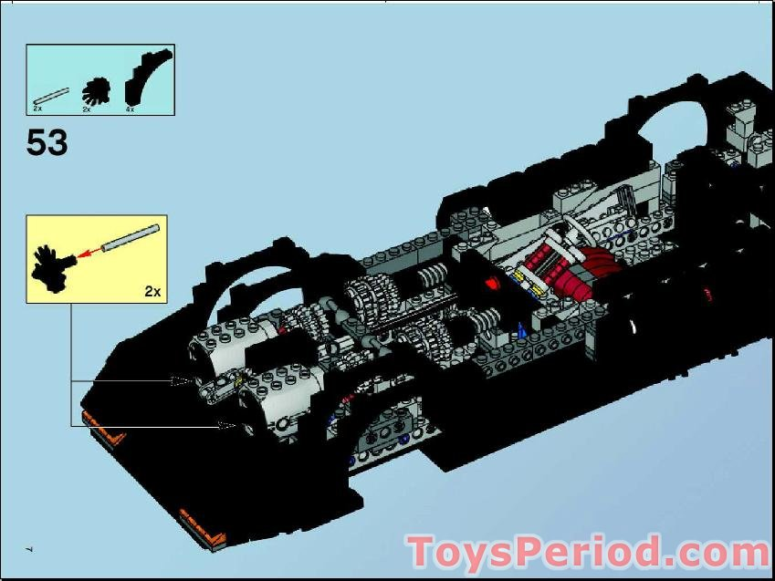 Lego Dimensions Batmobile Instructions Missing