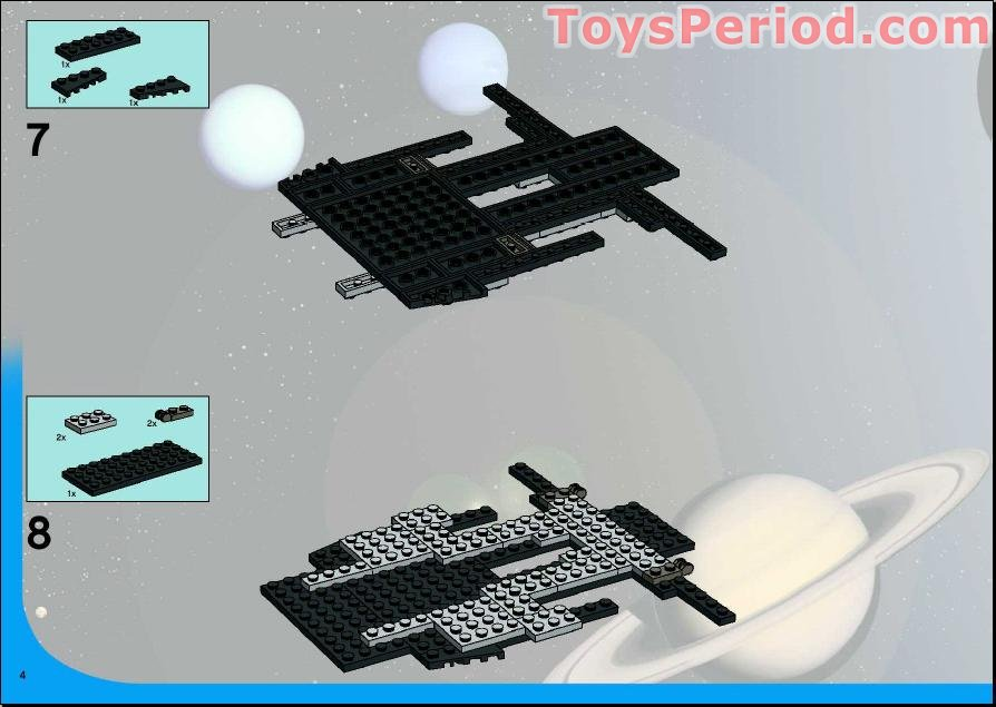 lego space shuttle parts list - photo #45