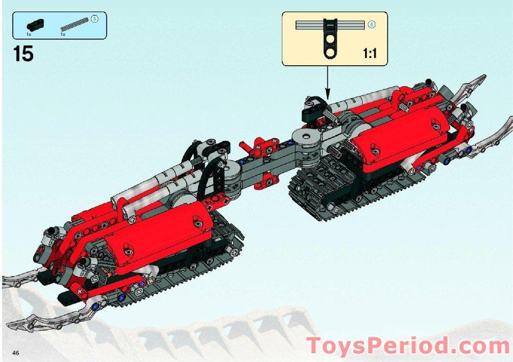LEGO 8996 Skopio XV-1 Set Parts Inventory and Instructions