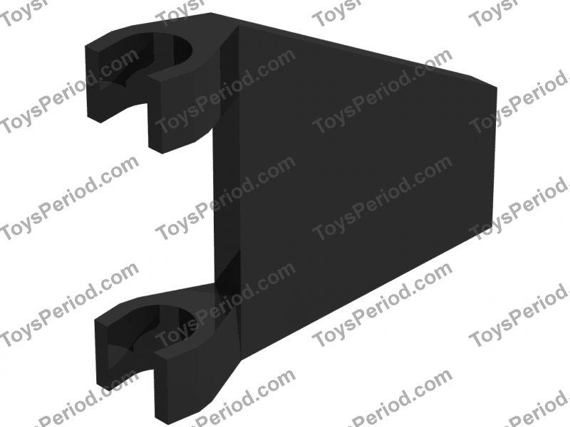 LEGO NEW 2x2 Dark Tan Flag Trapezoid 6231385 Brick 44676 10x