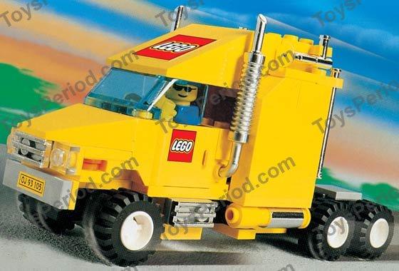 Lego 10156 lego truck set parts inventory and instructions - Modele de construction lego ...