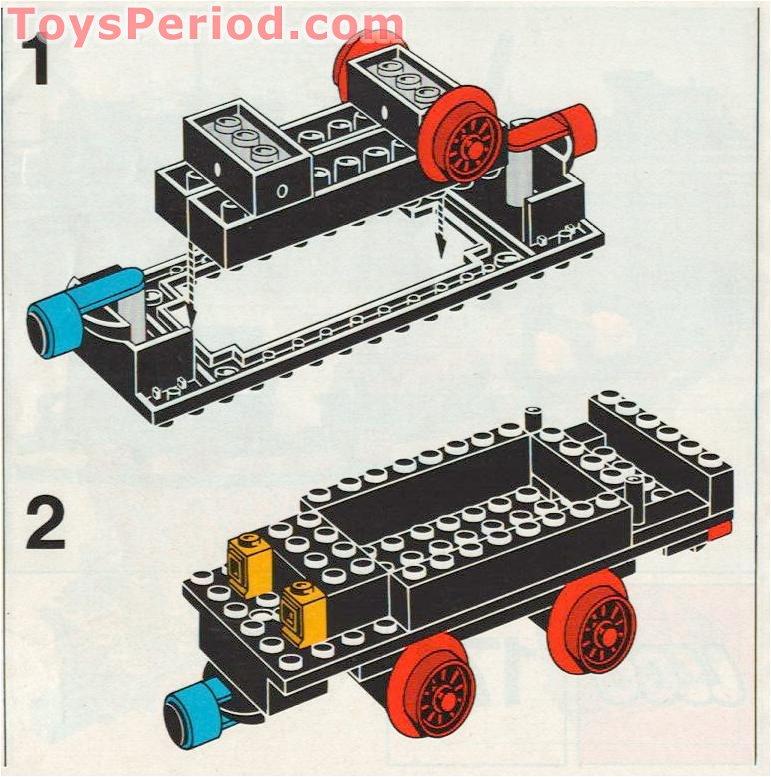 lego 171 complete train set without motor set parts. Black Bedroom Furniture Sets. Home Design Ideas