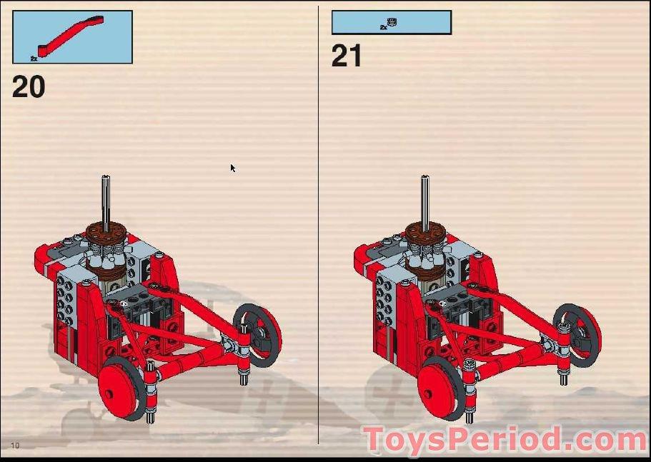 LEGO ® de recette//INSTRUCTION Nº 6536