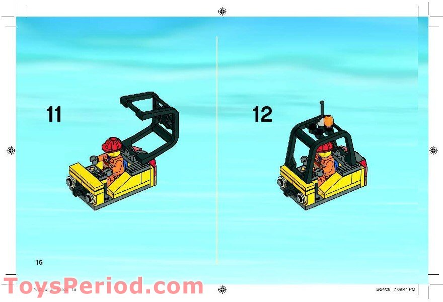 Lego 7633 Construction Site Set Parts Inventory And Instructions
