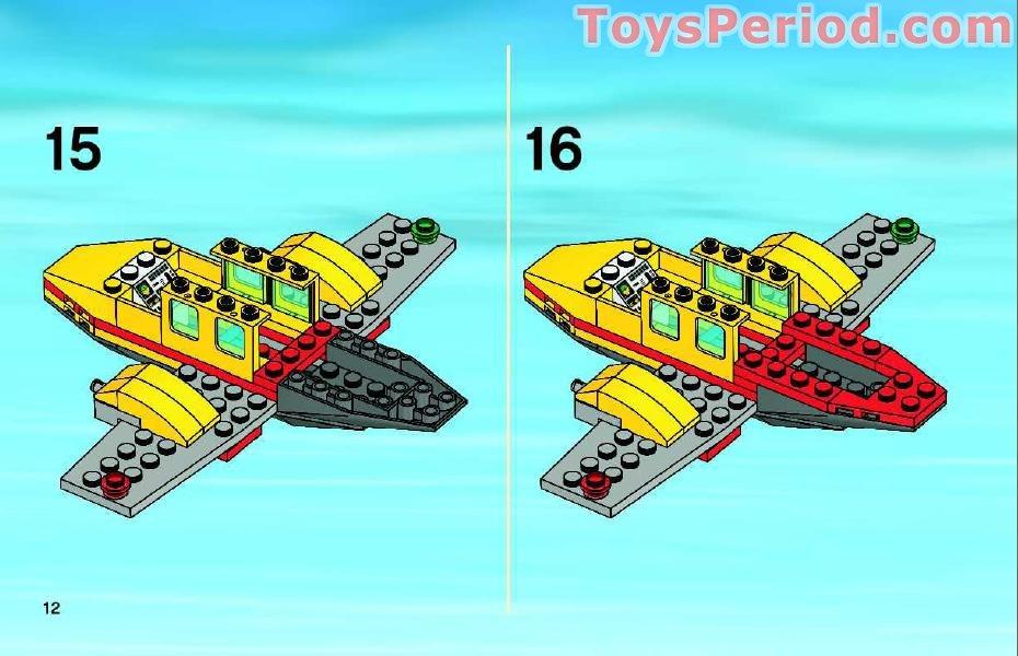 lego plane instructions free