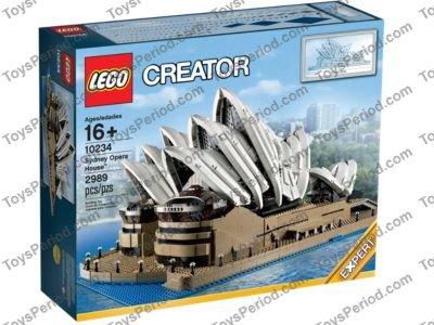 Lego 10234 Sydney Opera House Set Parts Inventory And Instructions