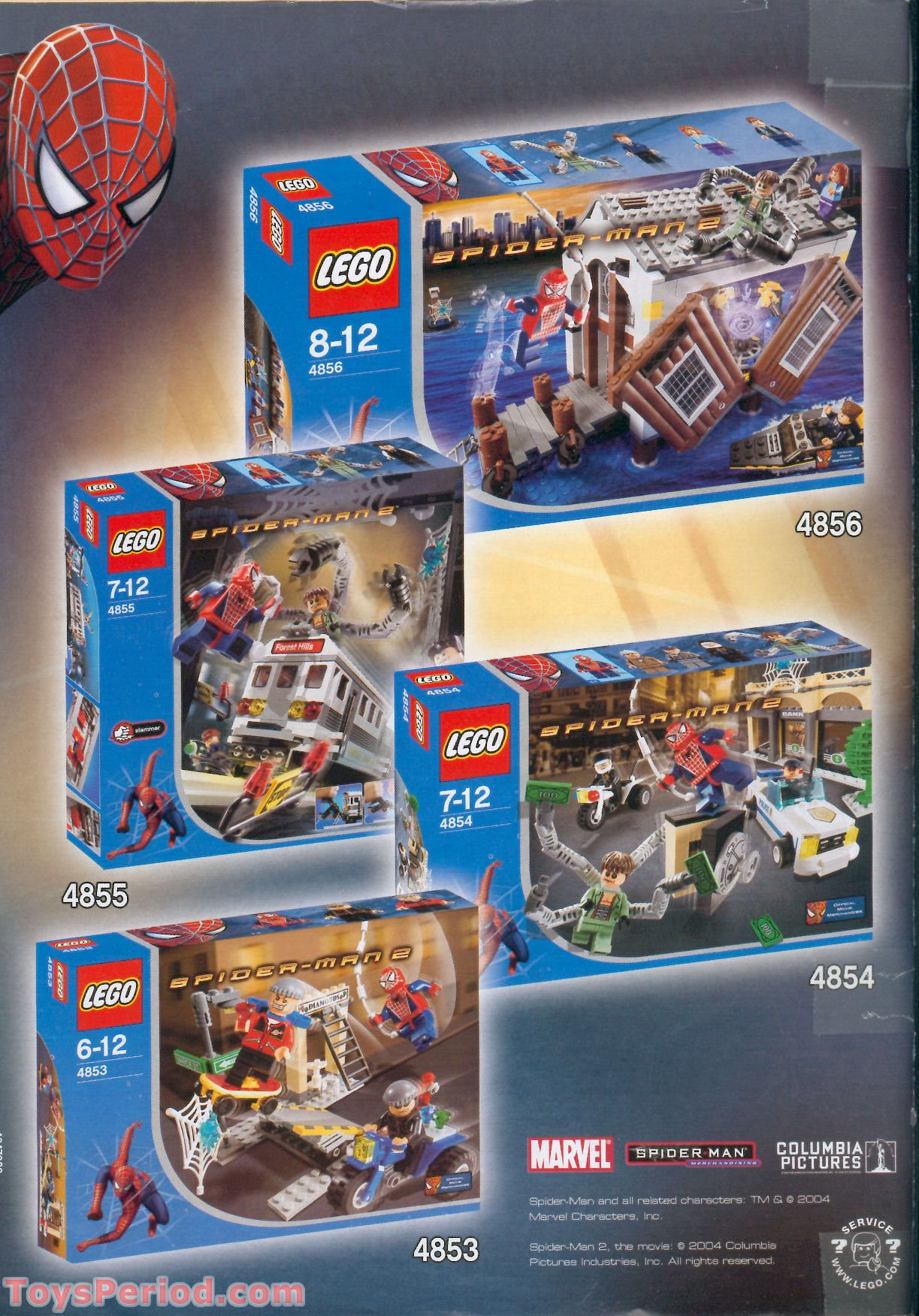 lego spiderman building instructions