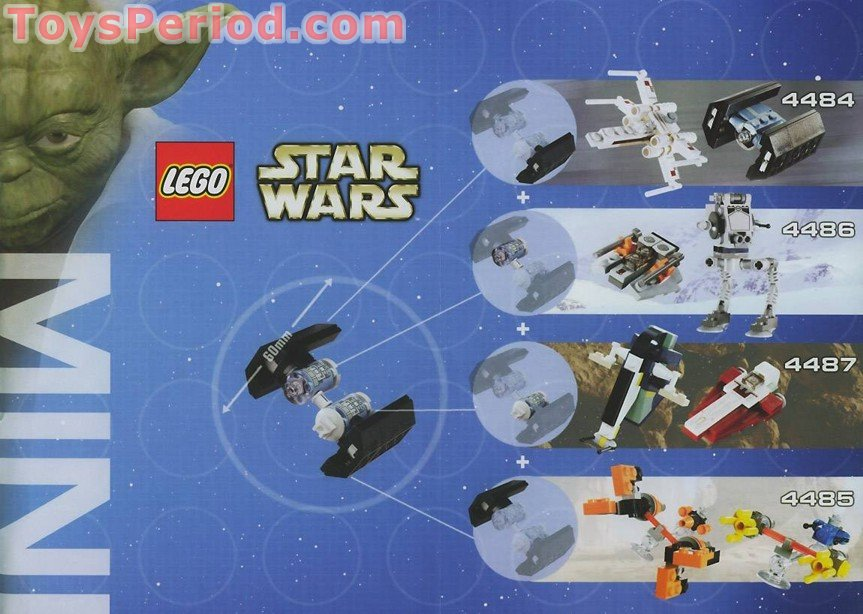 Lego 4479 Tie Bomber Set Parts Inventory And Instructions Lego