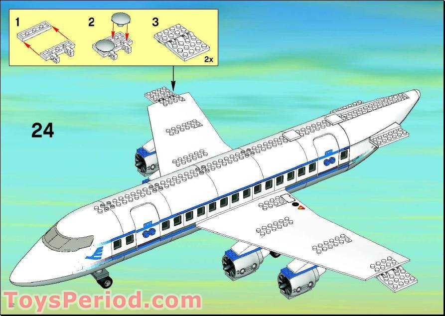 lego 3 in 1 plane instructions