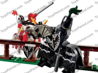 Triangular Falcon Silver x 5-10223 Joust Collection NEW LEGO Shield