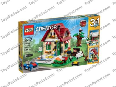 * LEGO Changing Season 31038 NEW FREE SHIP Christmas Holiday Winter NIB Sealed