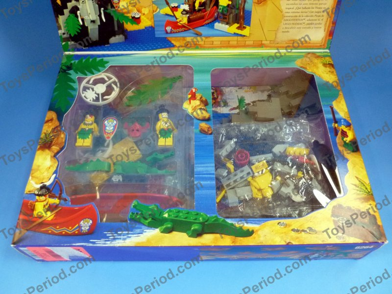 ... 6264 Forbidden Cove Vintage 94 Pirates Islander Set New Image Number 3