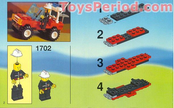 Lego Figur Zubehör Schwimmweste Gelb 1702 #