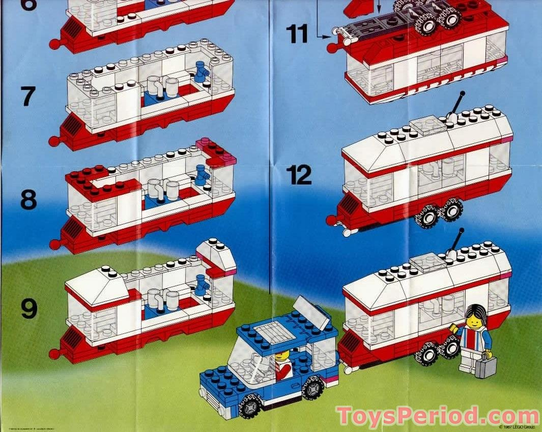lego 6590 vacation camper set parts inventory and instructions lego reference guide. Black Bedroom Furniture Sets. Home Design Ideas