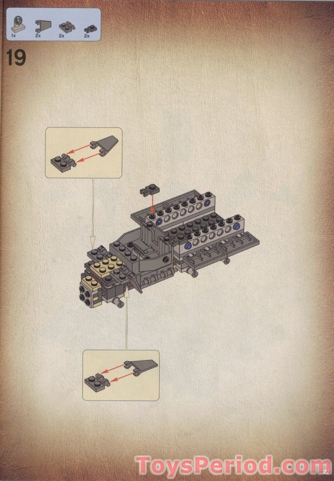 lego indiana jones 7622 instructions