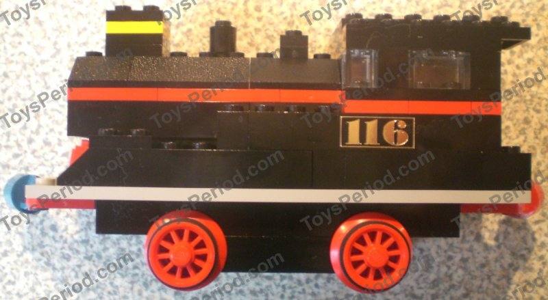 Lego 116 Starter Train Set With Motor Set Parts Inventory