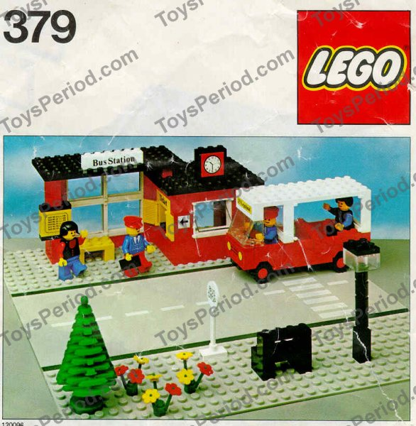 Lego 379 1 Bus Station Set Parts Inventory And Instructions Lego