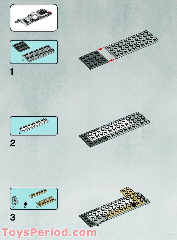 lego star wars hoth rebel base instructions
