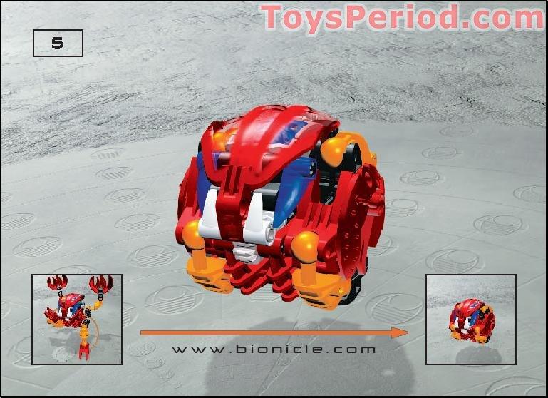 Lego 8563 Tahnok Set Parts Inventory And Instructions