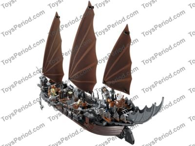 Lego 79008 Pirate Ship Ambush Set Parts Inventory And Instructions