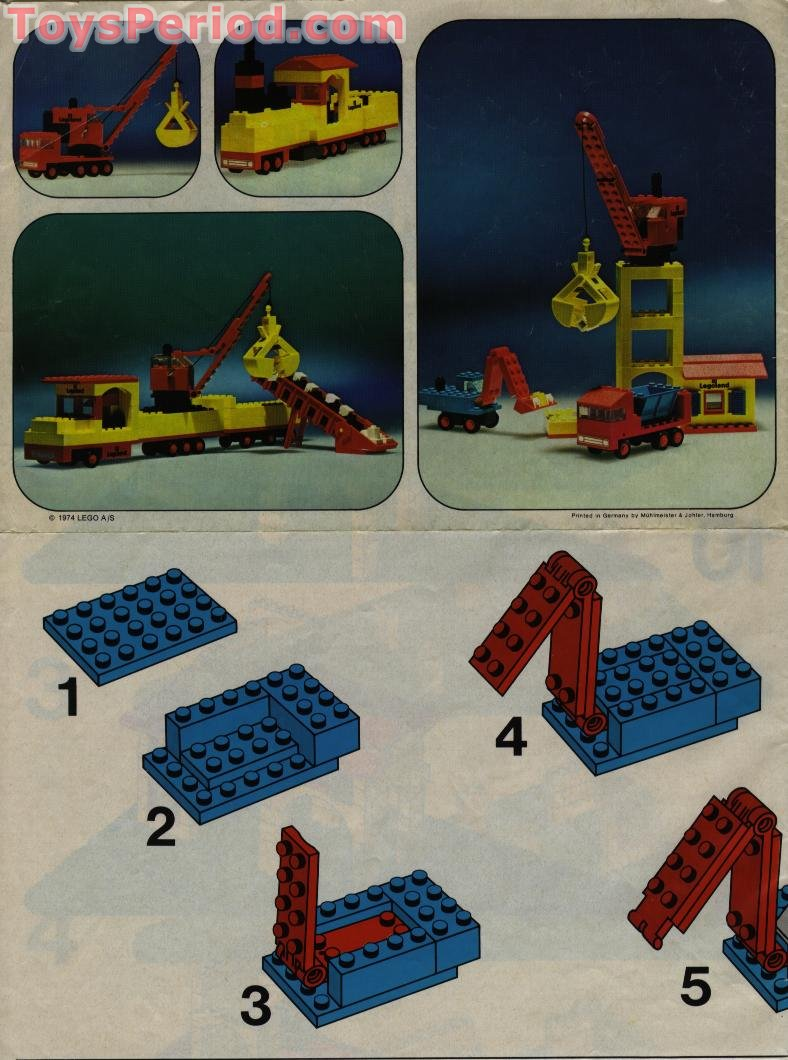 Lego 360 1 Gravel Quarry Set Parts Inventory And Instructions Lego