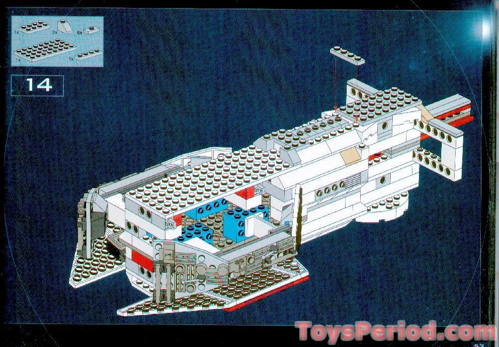 Lego 10019 Rebel Blockade Runner Tantive Iv Ultimate