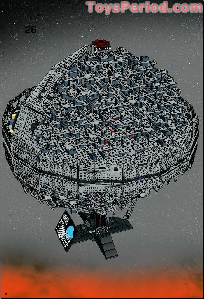 lego 10143 death star ii ultimate collector series ucs set parts inventory and instructions Death Star LEGO Friends LEGO Death Star Turret