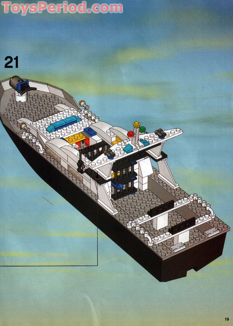 Lego 7899 Police Boat Set Parts Inventory And Instructions