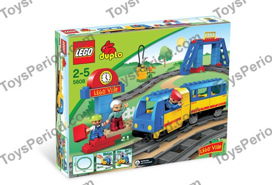 Lego 5608 Train Starter Set Set Parts Inventory And
