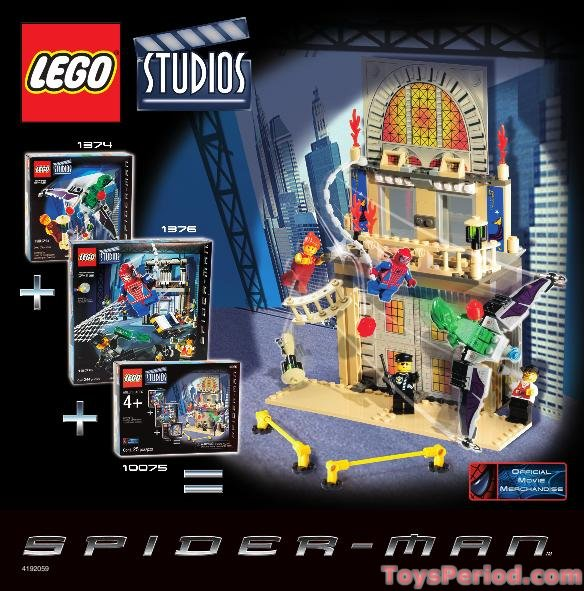 lego spider man 3 sets - photo #24