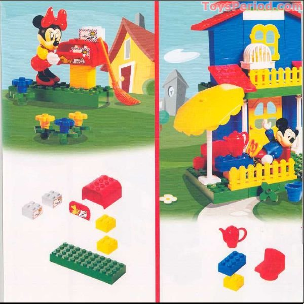 LEGO 4167 Mickey's Mansion Set Parts Inventory and Instructions ...