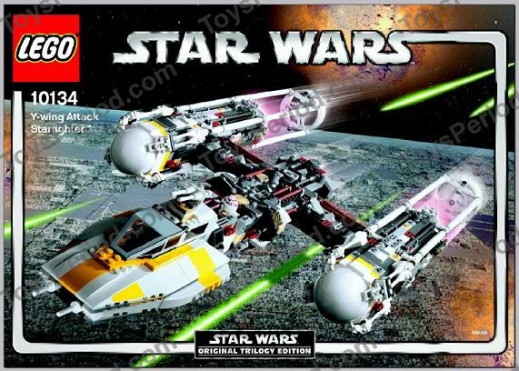 lego 10134 ywing attack starfighter ultimate collector