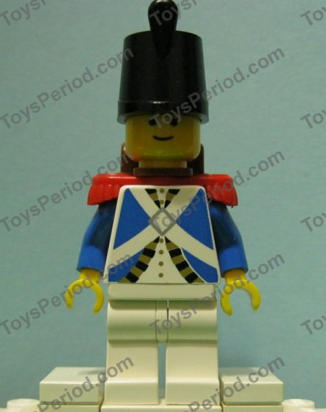 NEW Lego Minifig BLUE EPAULETTES Admiral Soldier Pirate Captain Minifigure