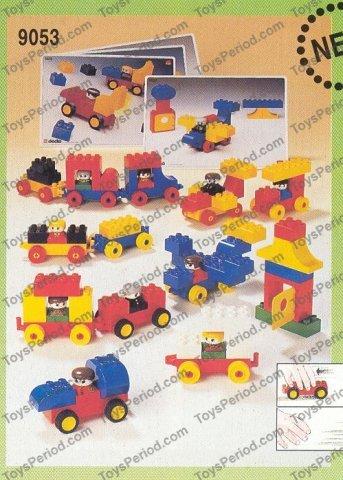Lego Cars Duplo Instructions