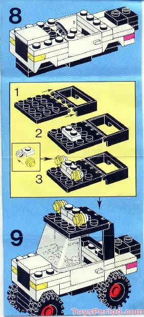 Lego 6659 Tv Camera Crew Set Parts Inventory And
