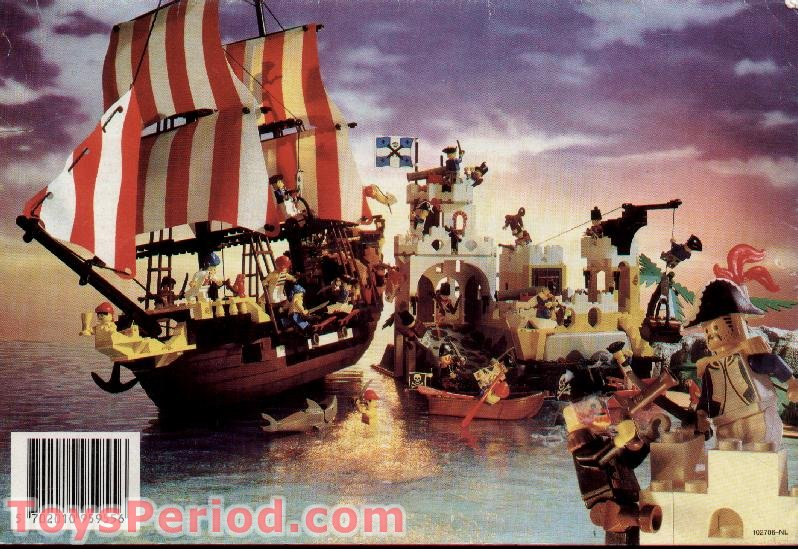 LEGO 6255 Pirate Comic Set Parts Inventory and ...