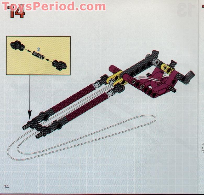 LEGO PART 2854 LIGHT GREY TECHNIC ENGINE CRANKSHAFT CENTRE X 2 PIECES