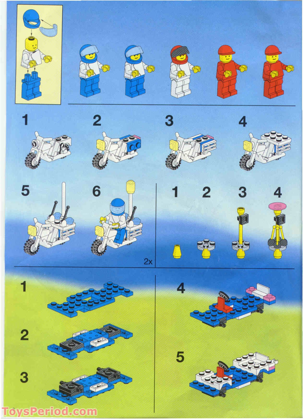 Lego 6346 Shuttle Launching Crew Set Parts Inventory And