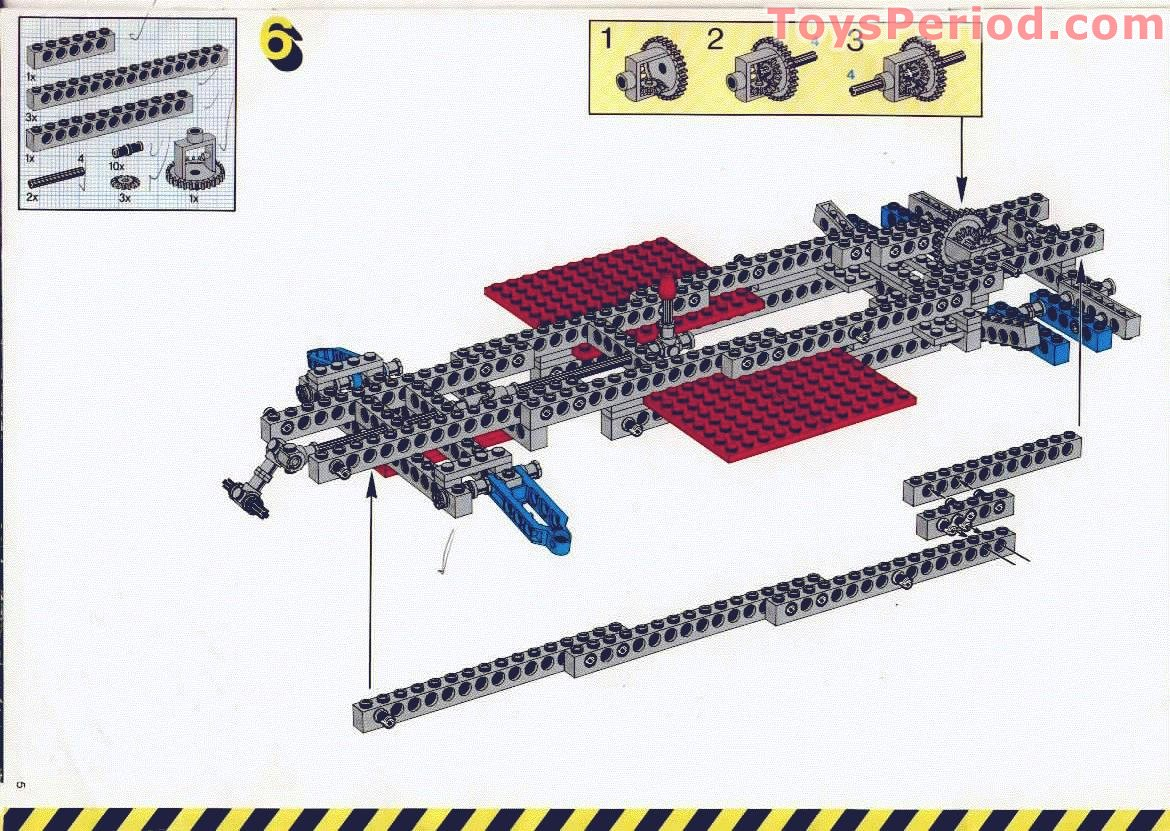 Lego 8865 Test Car Set Parts Inventory And Instructions Lego
