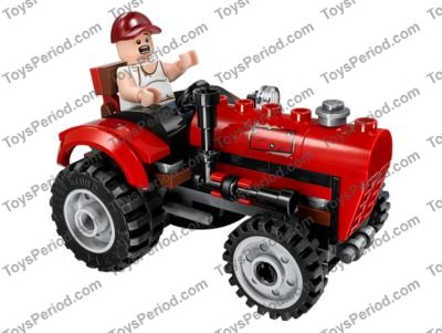 Lego 76054 Batman Scarecrow Harvest Of Fear Set Parts Inventory And