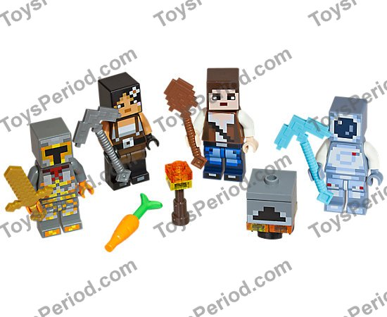 Lego 853610 Lego Minecraft Skin Pack 2 Set Parts Inventory And