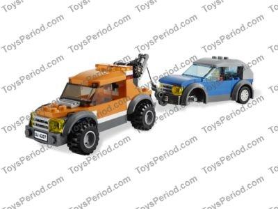 Lego City Garage : Lego city garage set parts inventory and instructions lego