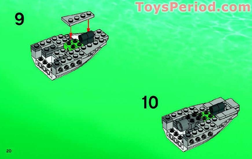 Lego Building Instructions For Extra Peices