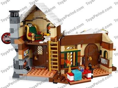 LEGO 10245 Santa's Workshop Set Parts Inventory and Instructions ...