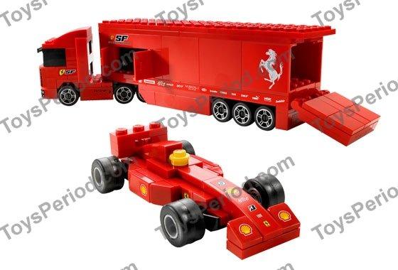 lego ferrari truck instructions