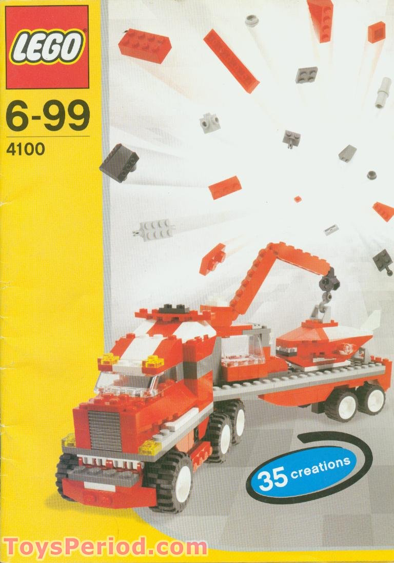 Lego 4100 Maximum Wheels Set Parts Inventory And Instructions Lego
