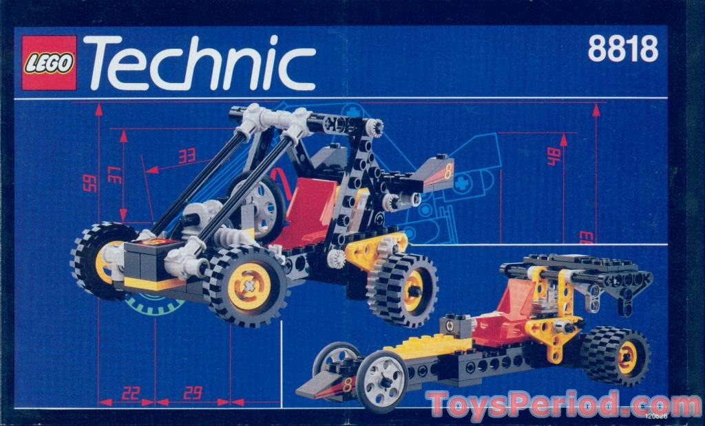 LEGO TECHNIC ref 2905 OldGray triangle